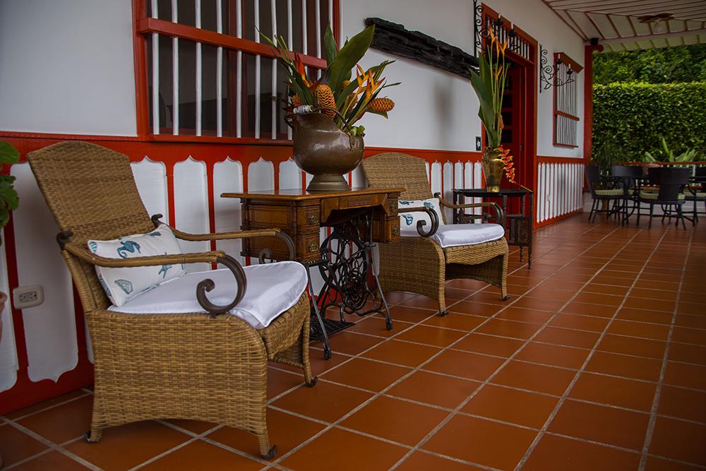Corredor Hotel Finca Los Mangos
