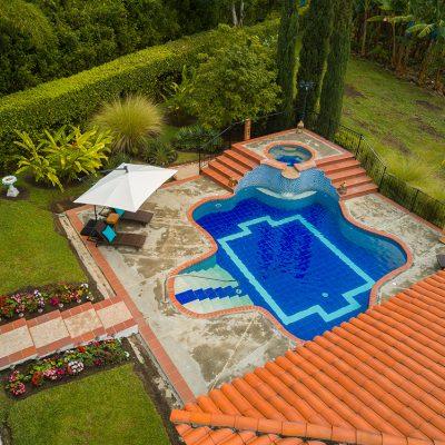 Hotel Finca Los Mangos panoramica piscina