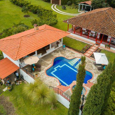Hotel Finca Los Mangos panoramica piscina 2