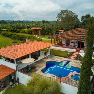 Hotel Finca Los Mangos panoramica piscina 9