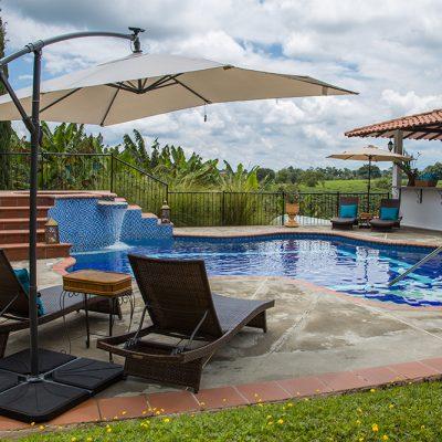 Hotel Finca Los Mangos Piscina 1