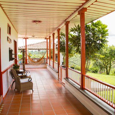 Hotel Finca Los Mangos corredor 5