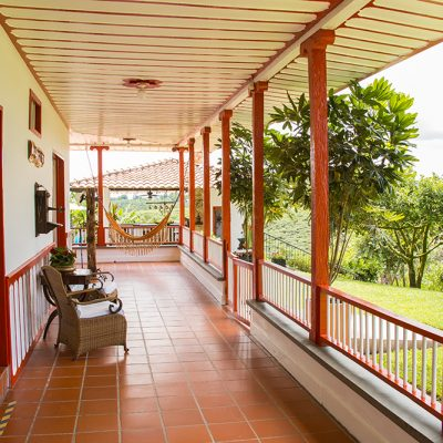 Hotel Finca Los Mangos Corredor 2
